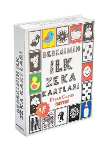 Bunjoy Flash Cards Bebeğimin İlk Zeka Kartları (Diy-Toy Yayınları) Renkli